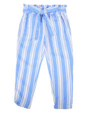 Girls - Paper Bag Waist Pants (4-6X)-2477740