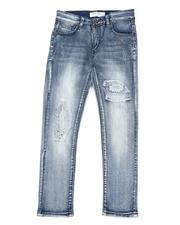 Arcade Styles - Destructed Knee Treatment Jeans (8-18)-2479831