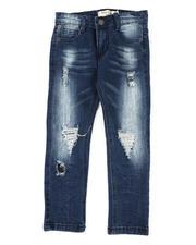 Boys - Destructed Knee Treatment Jeans (4-7)-2479838