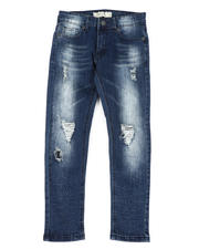 Arcade Styles - Destructed Knee Treatment Jeans (8-18)-2479843