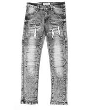 Arcade Styles - Embossed Moto Jeans (8-18)-2479850