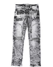 Arcade Styles - Destructed Knee Treatment Jeans (8-18)-2479857