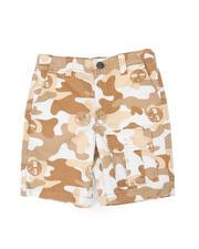 Timberland - Timberland Camo Utility Shorts (4-7)-2479026