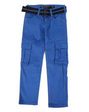 Bottoms - Belted Stretch Twill Cargo Pants (4-7)-2479037