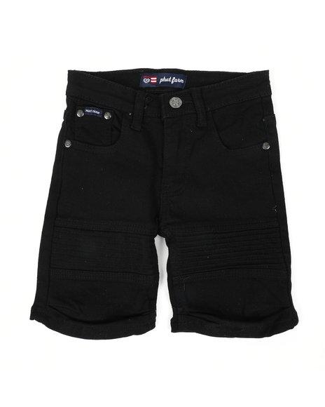 Phat Farm - Stretch Moto Denim Shorts (4-7)