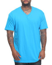 Basic Essentials - Basic V - Neck S/S Tee (B&T)-2023389