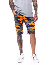 Buyers Picks - Orange Camo Twill Short-2479497