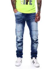 Jeans - Paint Splatter Stretch Moto Jean-2480355