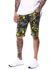 Buyers Picks - Yellow Camo Twill short-2479522