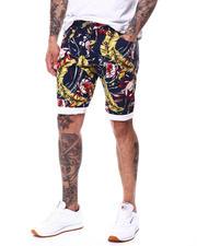 Buyers Picks - Blue Hawaiian Twill Short-2479553