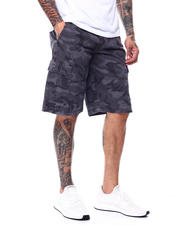 Buyers Picks - Camo Twill cargo Short w Belt-2480466