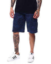 Buyers Picks - Camo Twill cargo Short w Belt-2480516