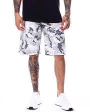 Buyers Picks - Camo Twill cargo Short w Belt-2480535