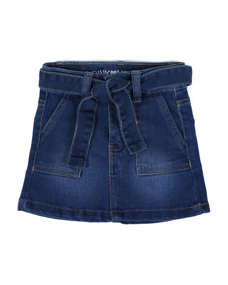 La Galleria - Denim Skirt (2T-4T)