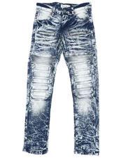 Arcade Styles - Embossed Moto Jeans (8-18)-2482260