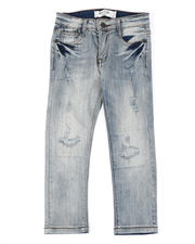 Arcade Styles - Destructed Knee Treatment Jeans (4-7)-2482267