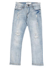 Arcade Styles - Destructed Knee Treatment Jeans (8-18)-2482272