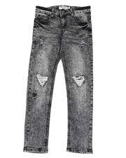 Arcade Styles - Destructed Knee Treatment Jeans (8-18)-2482290