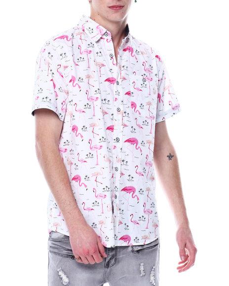 Buyers Picks - Flamingo AOP SS Woven Shirt