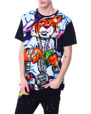 Hustle Gang - Drip Set Airbrush Tee-2481644
