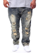 Big & Tall Faves - Shredded Jeans (B&T)-2481929