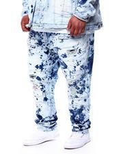 Makobi - Pop Jean Patch Bleached Jeans (B&T)-2480991