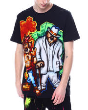 Hustle Gang - East West Dream Airbrush Tee-2481623