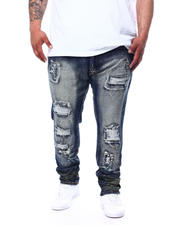 Makobi - Shredded Jeans With Paint Splatter (B&T)-2482027