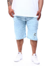 Akademiks - 5-Pocket Denim Shorts (B&T)-2482120