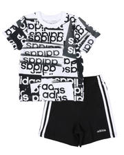 Sets - 2 Pc Core Origami T-Shirt & Shorts Set (2T-4T)-2481312