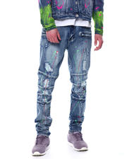 Stylist Picks - Neon Splatter Articulated Jean-2481576