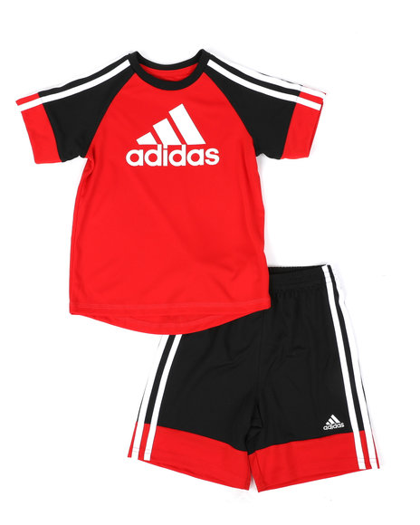 Adidas - 2 Pc Urban Sport T-Shirt & Shorts Set (4-7)