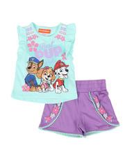 Nickelodeon - 2 Pc Paw Patrol Top & Shorts Set (2T-4T)-2482234