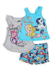 Sizes 2T-4T - Toddler - 3 Pc My Little Pony Set (2T-4T)-2482301