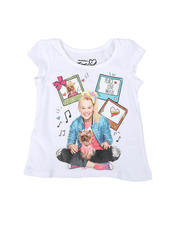 La Galleria - Jojo Siwa Peace Love Music Tee (2T-4T)-2482305