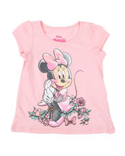 Sizes 2T-4T - Toddler - Minnie Flowers Tee (2T-4T)-2482309