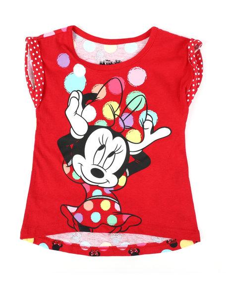 Disney - Minnie Red Dot Tee (2T-4T)