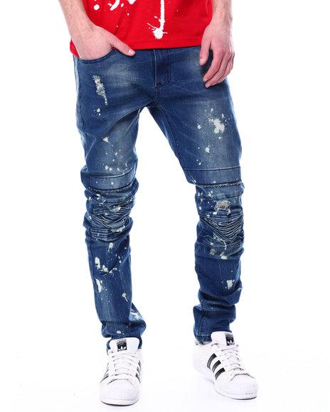 Buyers Picks - Paint Splatter Seamed Jean