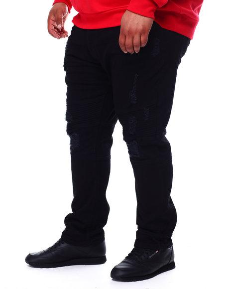 Buyers Picks - Veno Biker Jeans With Shredding (B&T)