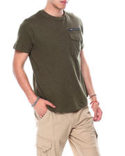 Spring-Summer-M - Steve Scoop SS Crew w Zip pocket-2481136