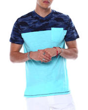 Buyers Picks - Camo V Colorblock Tee-2481206