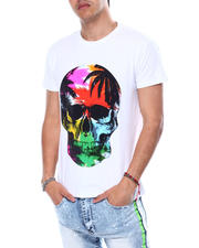 Buyers Picks - TROPICAL SKULL CRYSTAL TEE-2483144