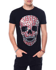 Buyers Picks - CRACKED SKULL CRYSTAL TEE-2483162