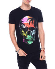 Buyers Picks - TROPICAL SKULL CRYSTAL TEE-2483174