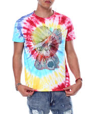 Buyers Picks - HIP HOP TEDDY TIE DYE CRYSTAL TEE-2483180