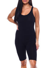 Plus Size - Tank Bermuda Catsuit(Plus)-2482713