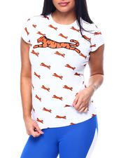 Tops - Ava All Over Print T-Shirt w/Gel Print Tiger-2482879
