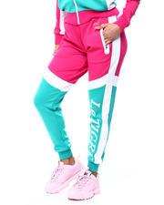 Le Tigre - Charlotte Color Block Jogger w/Logo Zip Pockets-2482904