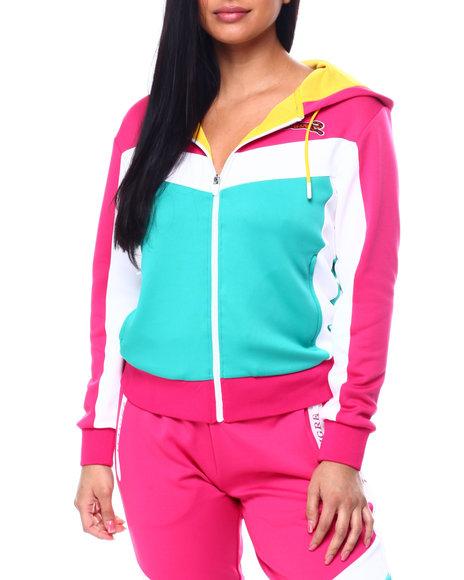 Le Tigre - Sophia Color Block Hooded Track Jacket