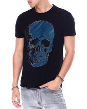 Buyers Picks - BLUE SKULL CRYSTAL TEE-2483156